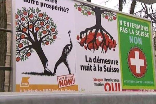 """Les Suisses ont dit """"oui"""" dimanche, à une courte majorité"""