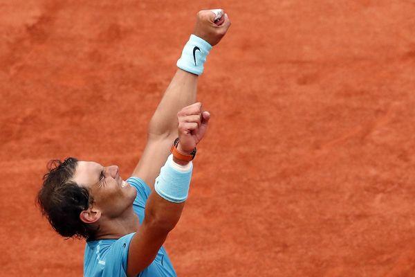 Rafael Nadal, le 10 juin 2018, à Roland-Garros.