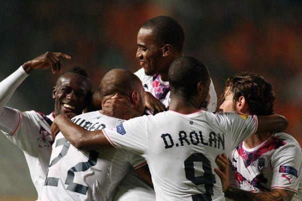 Les Girondins lors de leur élimination de l'Europa Ligue à Nicosie cette semaine.
