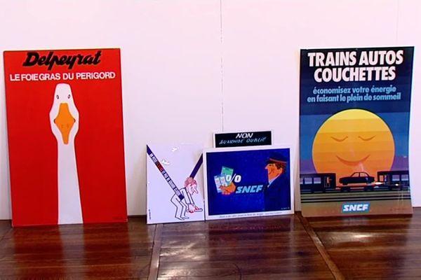 Quelques-unes des affiches signées Alain Carrier.