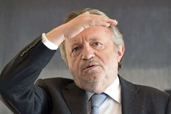 """Jean-Noël Guérini tête de liste de """"13 au Coeur""""."""