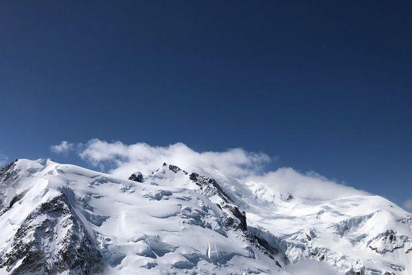 Le massif du Mont-Blanc.