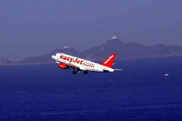 Illustration - Un A320 d'EasyJet a été contraint à une remise des gaz à l'aéroport d'Ajaccio lors de la dépression Adrian