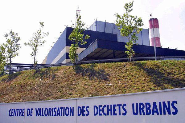 Incinérateur du Mirail à Toulouse, 7 juillet 2006.