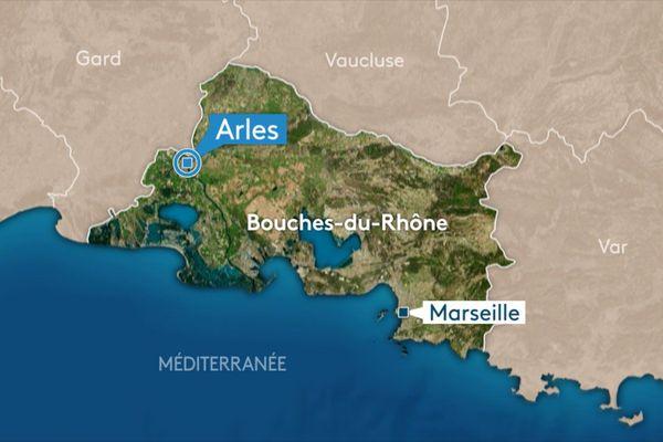 Un accident sur la N572 a provoqué la fermeture de l'A54 une partie de la journée dans le sens Nîmes-Arles.