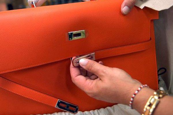 Un des célèbres sacs signés Hermès