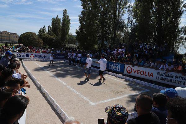 Le 16e de finale de Mickaël Bonetto a attiré du monde à Borély.