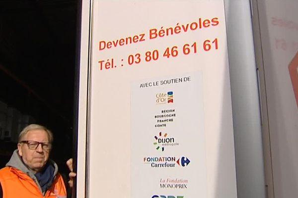 La banque alimentaire de Quetigny, en Côte-d'Or - 2 novembre 2017
