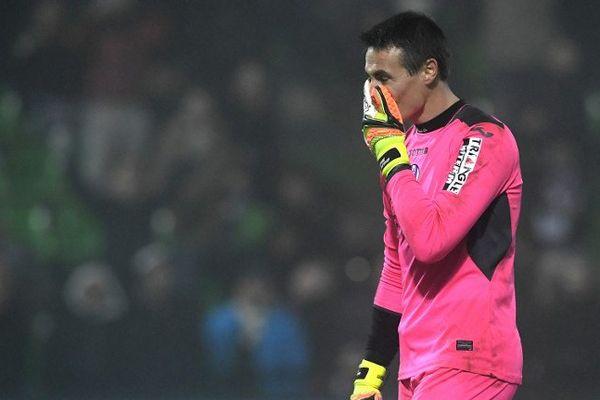 Le gardien du TFC Mauro Goicoechea a raté son tir au but