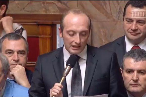 19/11/14 - Laurent Marcangeli interpelle la ministre de l'écologie sur la problématique énergétique de l'île