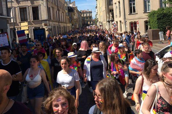 Marche des Fiertés LGBTI+ à Nancy samedi 1er juin 2019