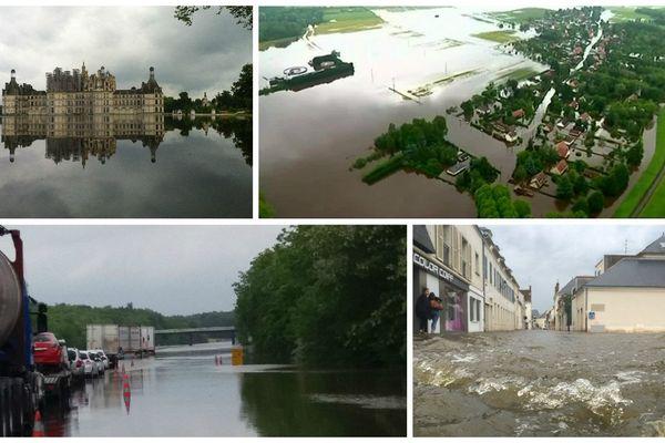 En 2016, les inondations provoquaient d'importants dégâts en région Centre-Val de Loire