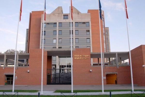 Hôtel de région à Toulouse