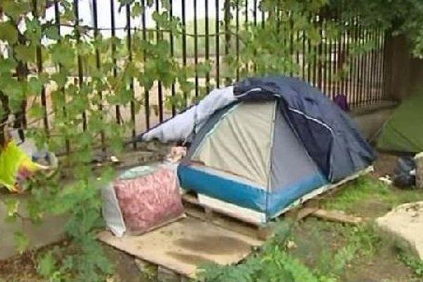 Des conditions de vie très précaires pour les réfugiés.