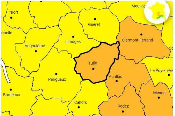 Risque de verglas en Corrèze