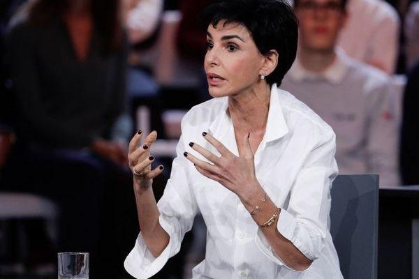 Rachida Dati lors de L'émission politique sur France 2, en janvier 2019.