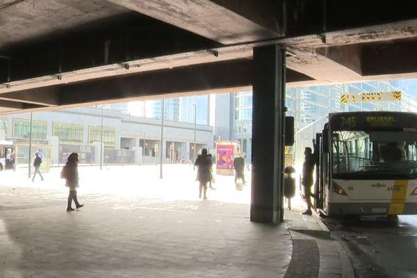 Un bus De Lijn à Bruxelles
