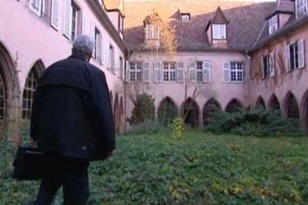 Le Cloître Saint-Quirin à Sélestat