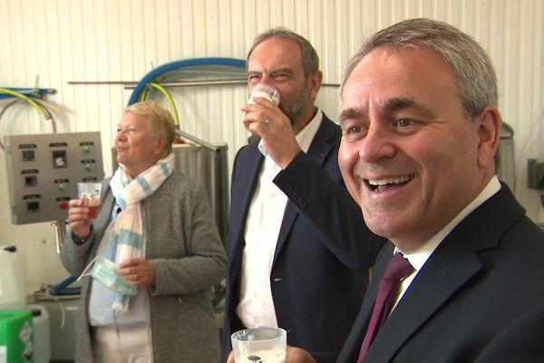 Le maire d'Evreux, Guy Lefrand, élu les Républicains, soutient la candidature de Xavier Bertrand à la Présidentielle