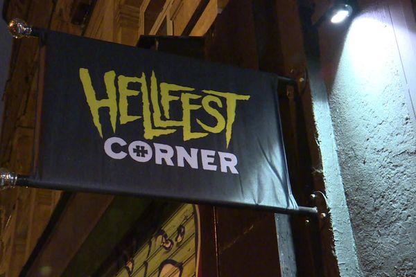Ouverture du Hellfest Corner à Paris, le 26 novembre 2019
