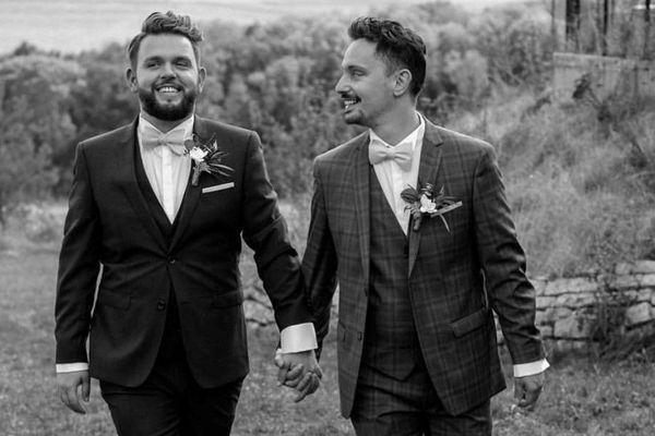 Steven et Nathan Da Fonseca se sont mariés en 2018.