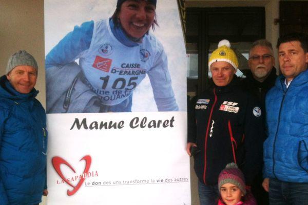 L'hommage des Granges-Narboz à Emmanuelle Claret