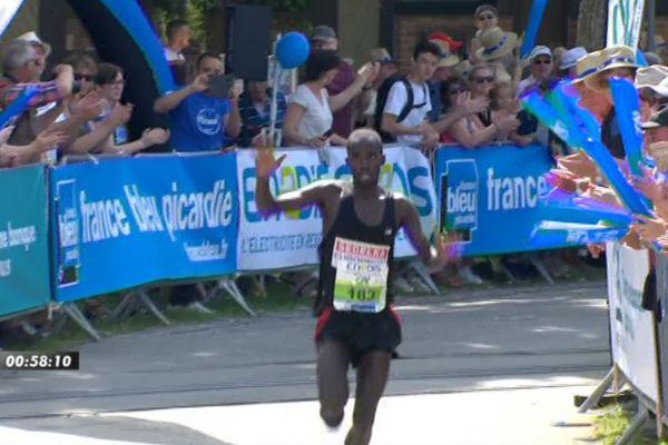 Dieudonné Nsengiyumva vainqueur de la Transbaie 2019