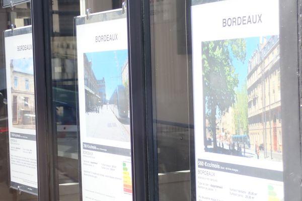 Les loyers ont connu une progression ces dernières années à Bordeaux qui ont conduit à la candidature à l'encadrement des prix.