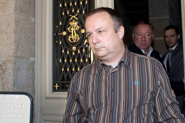 Guillaume Agnelet est venu témoigner devant la cour d'assises de Rennes ce matin
