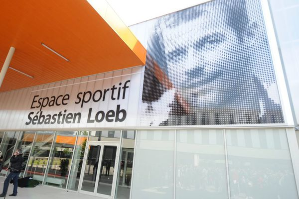 Photo : Franck Kobi/Maxppp - Inauguration de l' Espace sportif Sébastien LOEB