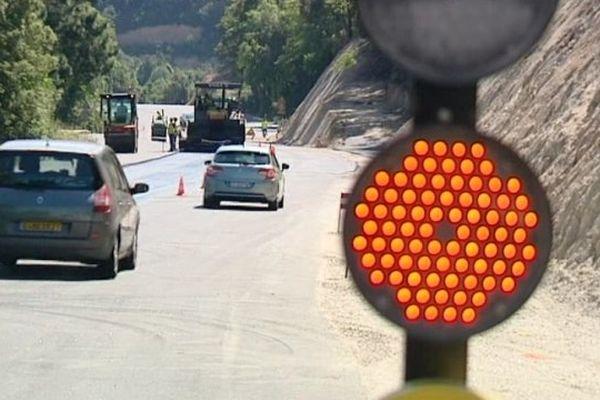 Importants travaux routiers sur la RN 193 entre Bocagnano et Ajaccio (Corse-du-Sud)