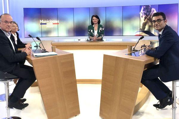 Municipales 2020 à Fontenay-le Comte, le débat d'avant 2nd tour Hocbon-Fourage-Verhaeghe-Grillo