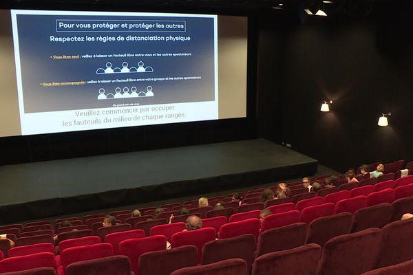 Plusieurs responsables de salles indépendantes en Auvergne Rhône Alpes ont co-signé cette semaine une tribune pour réclamer au gouvernement un plan d'urgence car certains cinémas n'ont pas pu rouvrir, d'autres pourraient fermer.