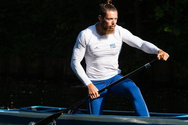 Adrien Bart, du club de Saint-Laurent-Blangy, a échoué en demie-finale des JO à Rio.