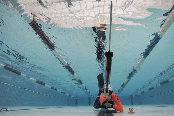 Championnats sports subaquatiques : tir sur cible