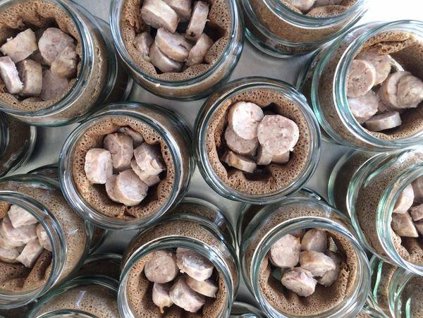Une préparation particulière est nécessaire pour conserver sous-vide la galette