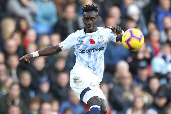 Idrissa Gueye sous le maillot d'Everton, le 11 novembre 2018.