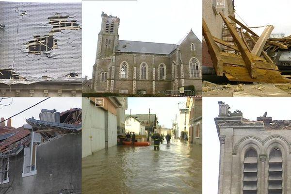 Les tempêtes Lothar et Martin ont traversé la France en décembre 1999
