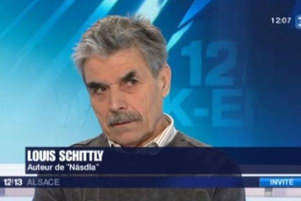 Louis Schittly, auteur de Näsdla, une fable sur la fin de la paysannerie