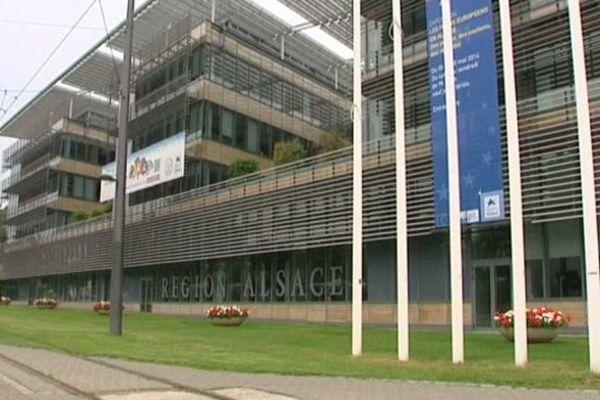 Le siège du Conseil régional d'Alsace à Strasbourg