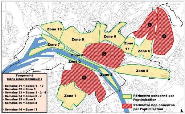 11 quartiers de Rouen seront concernés par l'extinction de l'éclairage public la nuit entre 1h et 5h du matin.