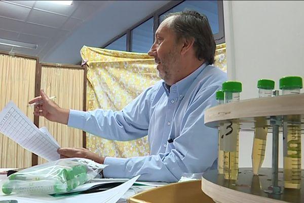 Lors de la campagne du Glyphosate dans le Médoc, en juin 2019,  les prélèvements d'urine ont été effectués et enregistrés en présence d'un huissier.
