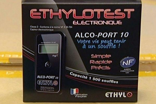 Ethylotest électronique - Sté Ethylo (Aube)