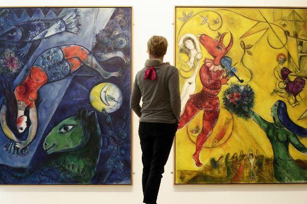 Au musée Chagall à Nice