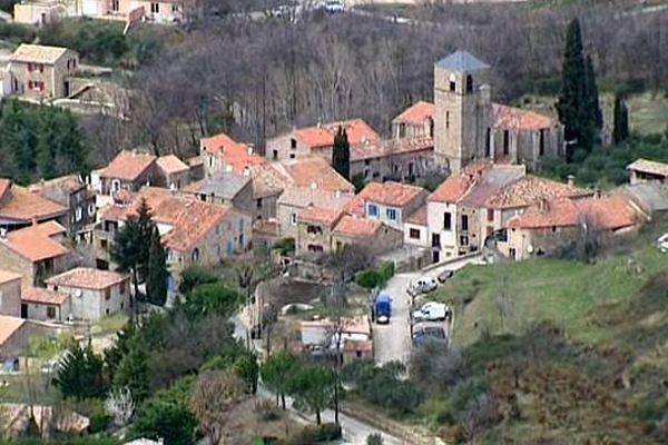 Saint-Privat (Hérault) - le village - 2014