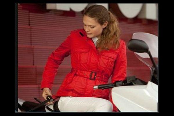 La PME Helite, qui est installée à Fontaine-lès-Dijon, conçoit des vêtements équipés d'un système airbag.