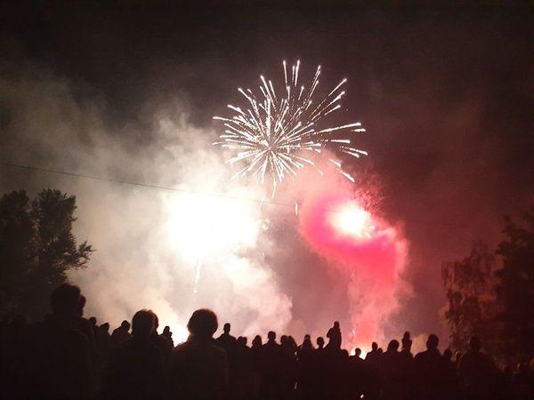 Le feu d'artifice de Soufflenheim.