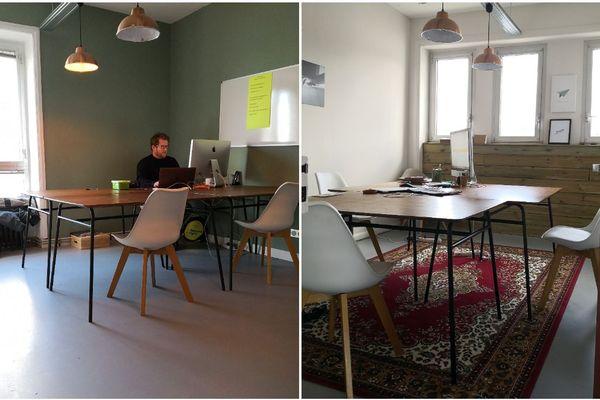 À la Swenson House à Audierne, des chefs d'entreprise, des indépendants ou encore des salarités viennent profiter des locaux