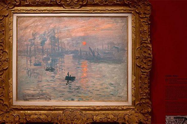 """Le tableau """"Impression soleil levant"""", le chef d'oeuvre de Claude Monet quittera le musée Marmottan à Paris pour rejoindre le MUMA du Havre"""