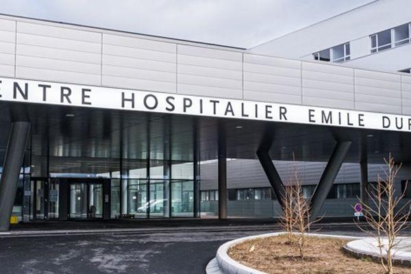Nouvel hôpital d'Epinal.